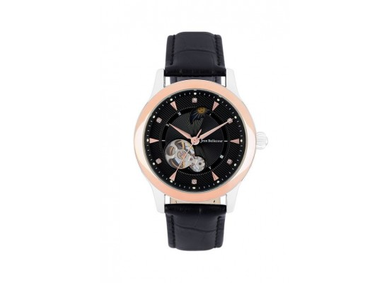 Jean Bellecour Automatic Analog Gents Leather Watch (JBP1902)