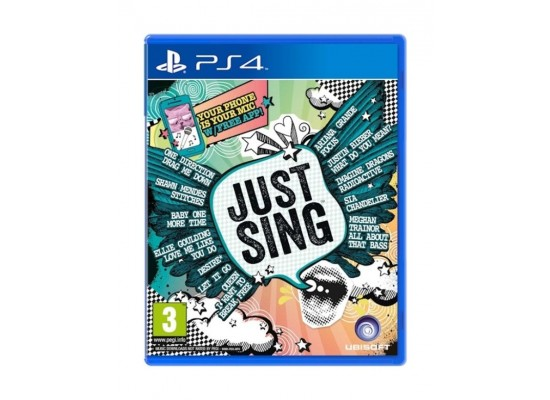 Just Sing – Playstation 4 Game
