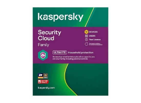 Kaspersky Security Cloud Family 2021 - 10 User