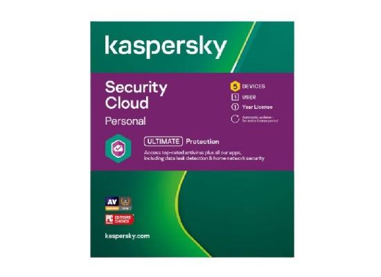 Kaspersky Security Cloud Personal 2021 - 5 User