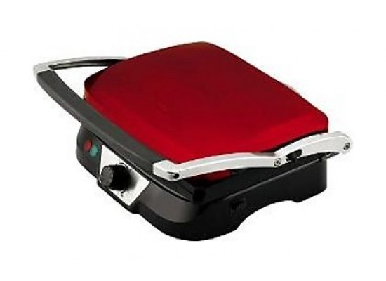 Kenwood 1500W Contact Electric Grill (HG365) – Red