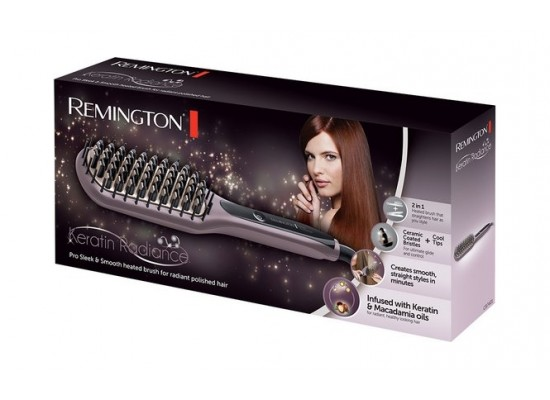 Remington Keratin Radiance Sleek & Smooth Brush - CB7401