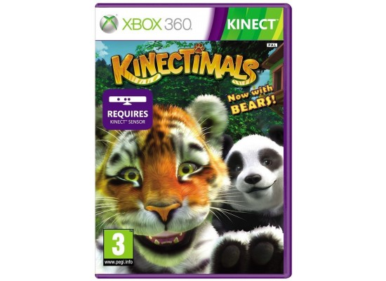 Kinectimals with Bears - Xbox 360 Game (Kinect Compatible)