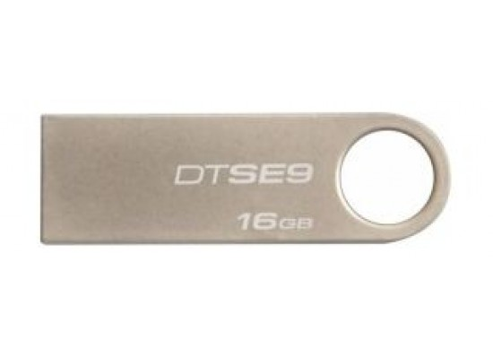 KINGSTON Digital DataTraveler SE9 16GB USB 2.0 Flash Drive - Grey