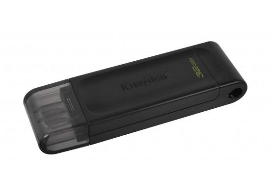 Kingston DataTraveler 70 USB 3.2 Gen 1 32GB USB-C Flash Drive