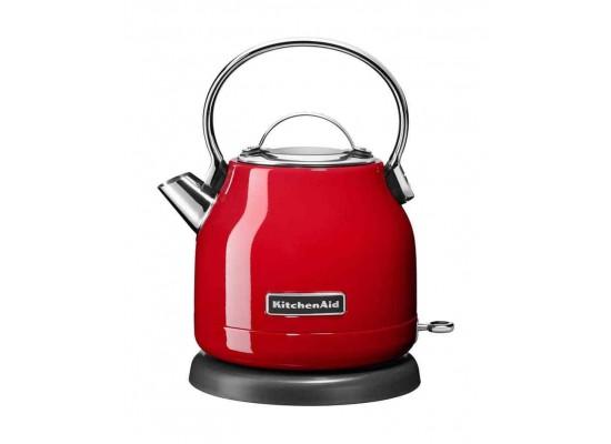 KitchenAid 1.25L 2200W Dome Kettle (5KEK1222BER) - Empire Red