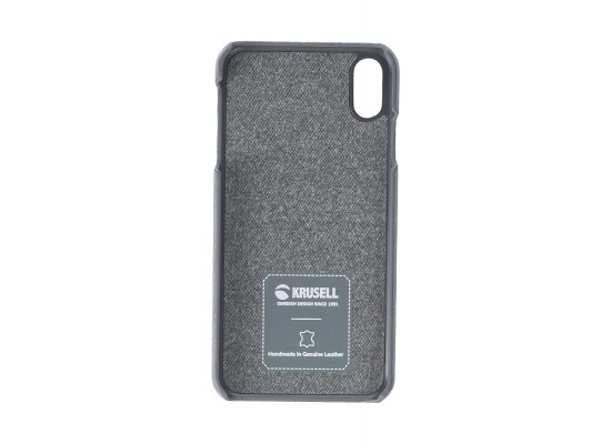 Krusell Broby Case For iPhone XS Max (61495) - Grey