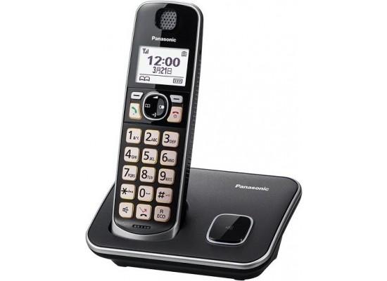 Panasonic Cordless Phone (KX-TGE610UEB) - Black