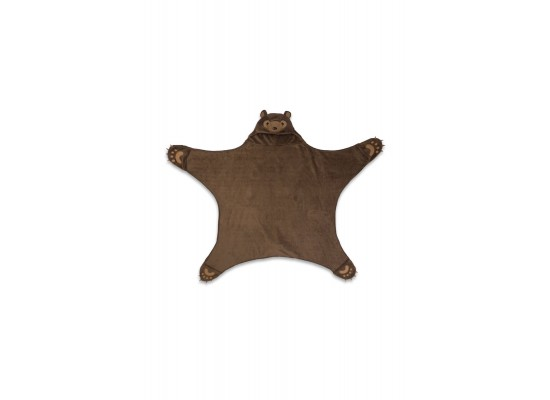 Lavatelli Kanguru Bear Blanket (1197) - Brown