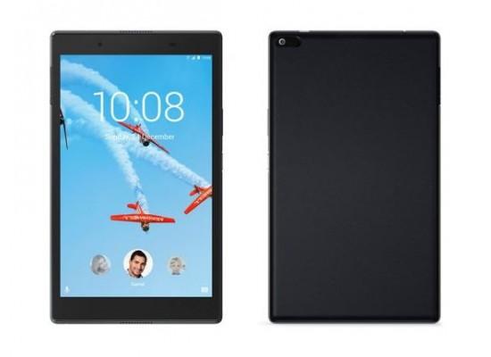 Lenovo Tab4 TB-8504 16 GB Tablet Black - Front & Back View