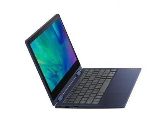 "Lenovo Flex 3 Intel Pentium Silver N5030 4GB RAM 128GB SSD 11.6"" Laptop - Blue"