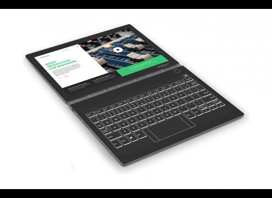 Lenovo Yoga Book C930 Core i5 4GB RAM 256GB SSD 10 inch Touchscreen Convertible Laptop - Grey 43