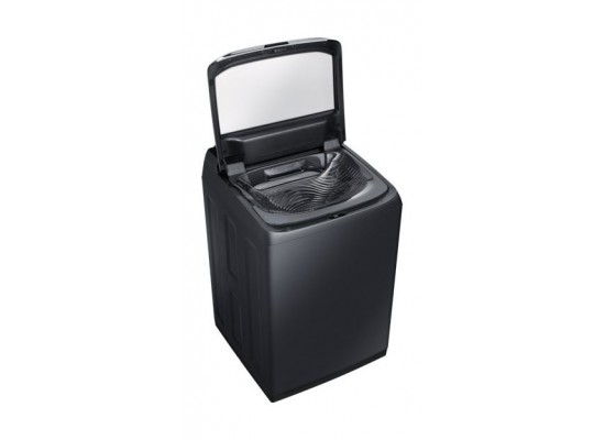Samsung 22 kg Top Load Washing Machine (WA22M8700GV) - Top View