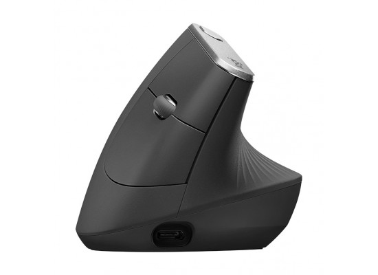 Logitech Advanced Ergonomic Bluetooth Wireless Mouse (910-005448) - Black