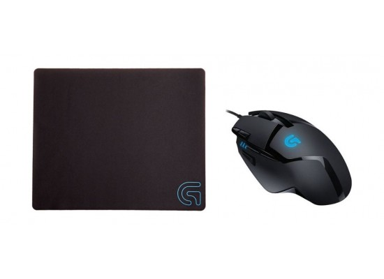 8d5a423a996 Logitech G402 Hyperion Fury Ultra-Fast FPS Gaming Mouse Wireless + Mouse Pad