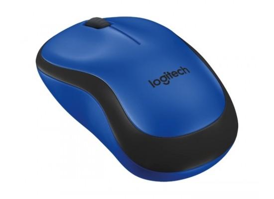 Logitech M220 Silent Wireless Mouse (910-004879) - Blue