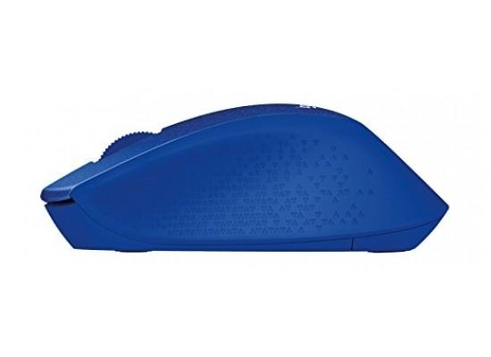Logitech M330 Silent Plus Wireless Mouse (910-004910) - Blue