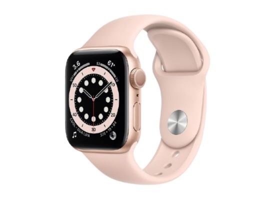 Apple Watch Series 6 Cellular 40mm Gold Case in Kuwait | Buy Online – Xcite
