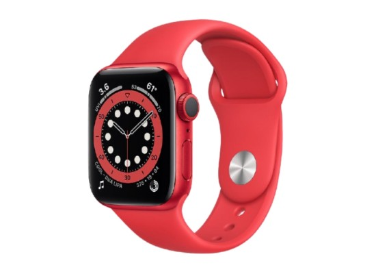 Apple Watch Series 6 Cellular 44mm Red Case in Kuwait | Buy Online – Xcite