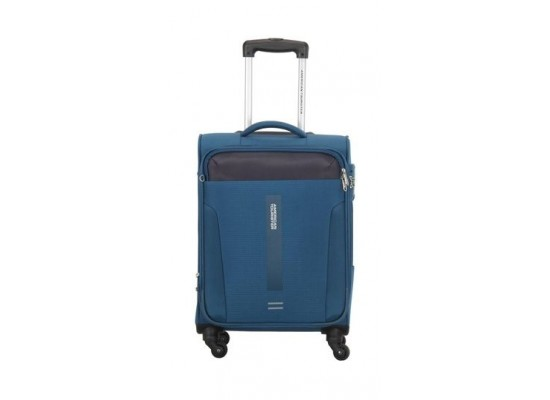 American Tourister Madison 68CM Spinner Soft Luggage (80OX31202) - Blue