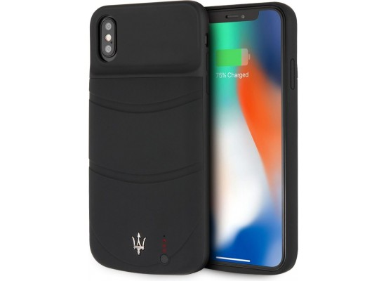 new styles b9fc7 3b750 Maserati Power Case for Apple iPhone XS Max - Black