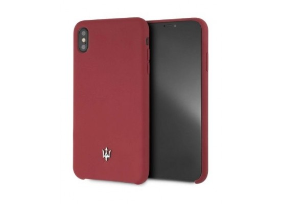 best service 98852 9e942 Maserati Silicone Case For iPhone XS Max - Red