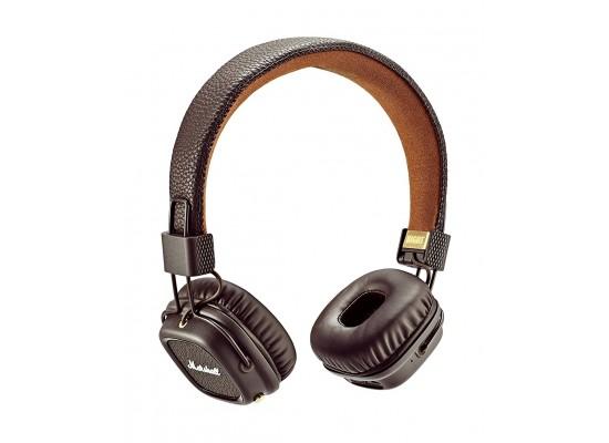 Marshall Major II Bluetooth On-Ear Headphones - Brown 942cd6374178f