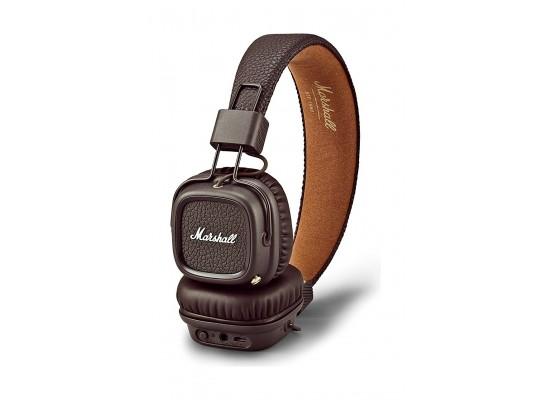 Marshall Major II Bluetooth On-Ear Headphones - Brown