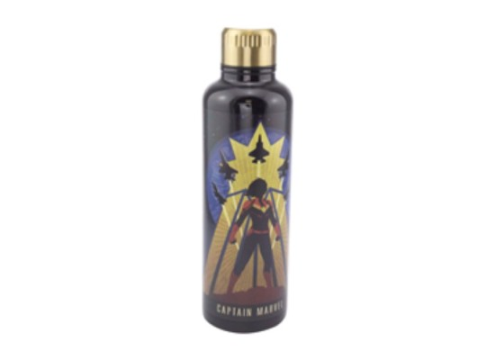 Paladone Captain Marvel Metal Water Bottle in Kuwait | Buy Online – Xcite