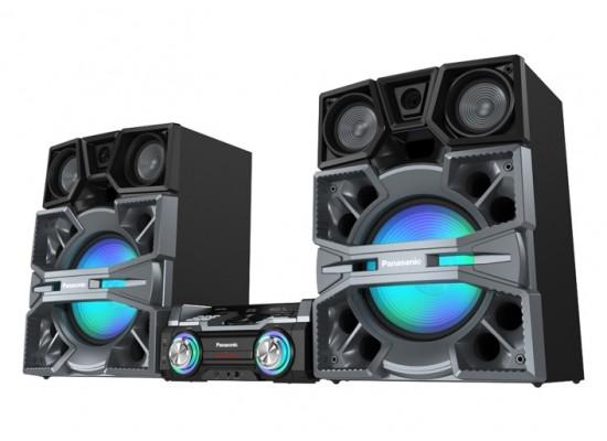 Panasonic SC-MAX8000 4000W Hi-Fi Mini System with MAX DJ Station