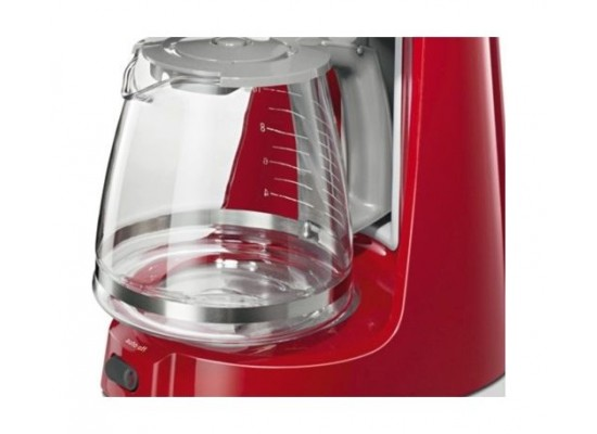 Bosch 1100W Filter CompactClass Extra Coffee Machine (TKA3A034GB) – Red