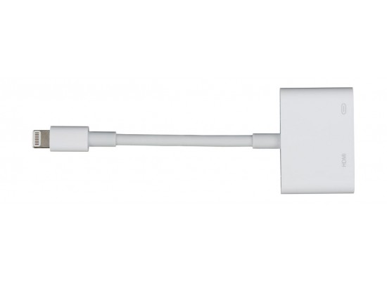 Apple Lightning Digital AV Adapter - White (MD826ZM/A)