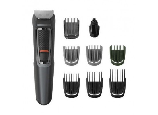 Philips Multigroom Series Male Trimmer (MG3747/13) - Black
