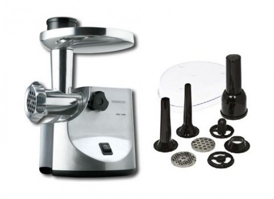 Kenwood 1600W 2KG Meat Grinder (MG510) - Metal
