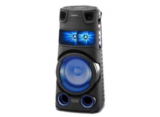 Sony Bluetooth & USB Portable Party Speaker With 360 Lights  – (MHC-V73D)
