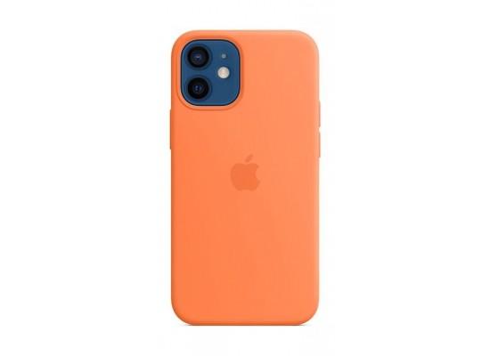 Apple iPhone 12 Mini MagSafe Silicone Case - Kumquat