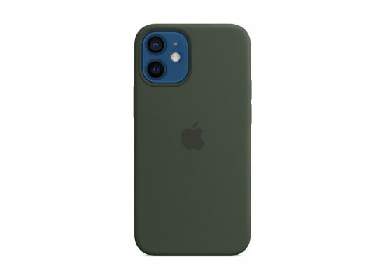 Apple iPhone 12 Mini MagSafe Silicone Case -  Cyprus Green