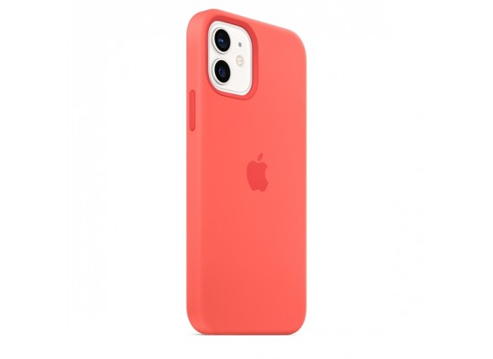 Apple iPhone 12 Mini MagSafe Silicone Case - Pink