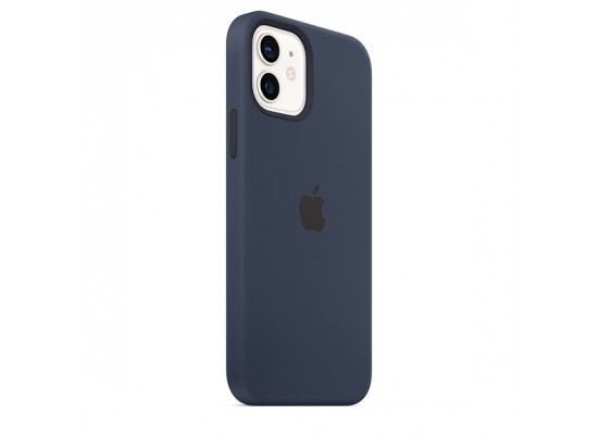 Apple iPhone 12 Pro MagSafe Silicone Case - Deep Navy