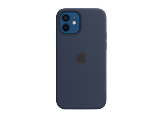 Apple iPhone 12 Pro MagSafe Navy Silicone Case in Kuwait | Buy Online – Xcite