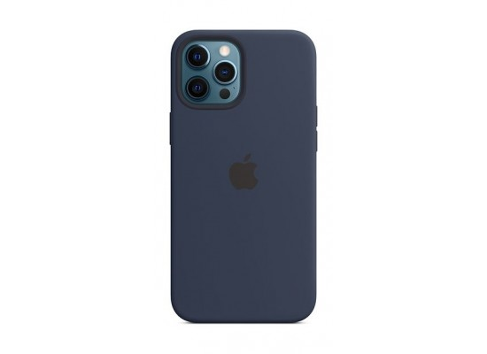 Apple iPhone 12 Pro Max MagSafe Silicone Case - Deep Navy