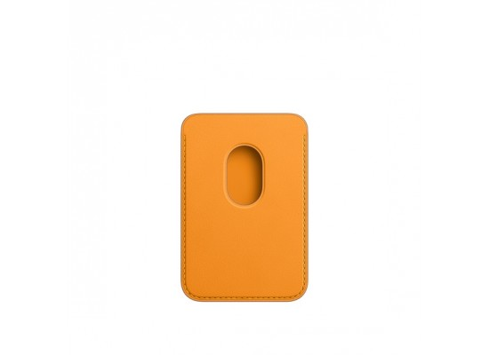 Apple iPhone Magsafe Leather Wallet - California Poppy