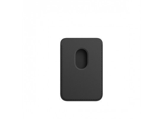 Apple iPhone Magsafe Leather Wallet - Black