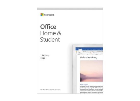 Microsoft Office Home & Student 2019 (WIN/MAC-FPP)