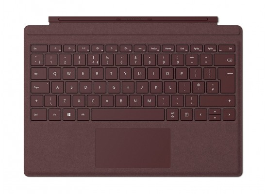 Microsoft Surface Signature Type Cover - Burgundy