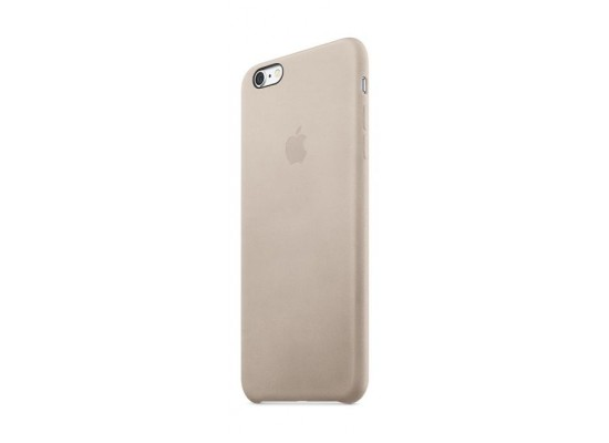 finest selection e496e 771af Apple iPhone 6s Plus Leather Case - (MKXE2ZM/A) Rose Grey