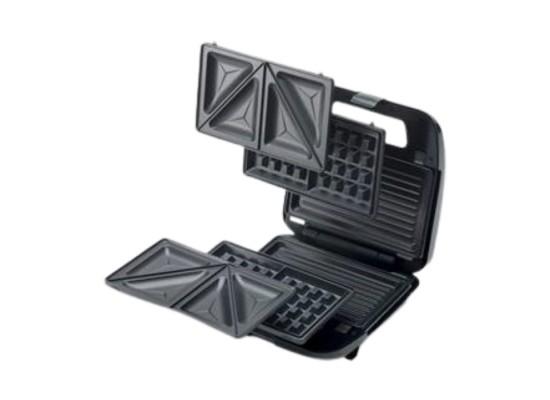 Kenwood 750W 3 Plate Sandwich Maker - (SMM02.000SI)