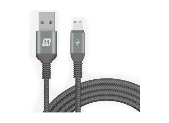 Momax Elite Link Triple-Braided Nylon Lightning Cable 2M
