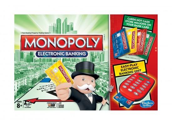 Hasbro Monopoly Electronic Banking Board Game | Xcite