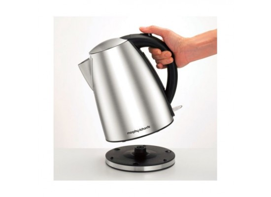 Morphy Richards 1.7L Stainless Steel Accents Brushed Jug Kettle